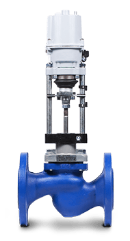 Клапан КПСР 100   Dn 32 мм   Pn 1.6 МПа   с электроприводом Regada25ч945пОбъём партии: 4 изделия