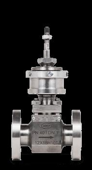 Клапан КПСР 400   Dn 15 мм   Pn 4 МПа   под приводнержавеющая стальОбъём партии: 6 изделий