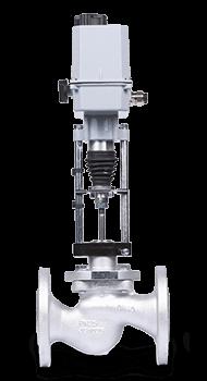 Клапан КПСР 200 | Dn 80 мм | Pn 4 МПа | с электроприводом Regada25с947нж