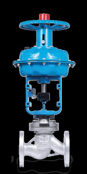 Клапан КПСР 200 | Ду32 мм | Pn4.0 Мпа | с пневмоприводом КПСР 900