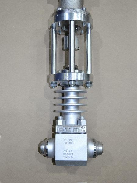 Клапан под приварку с приводом АУМА_2