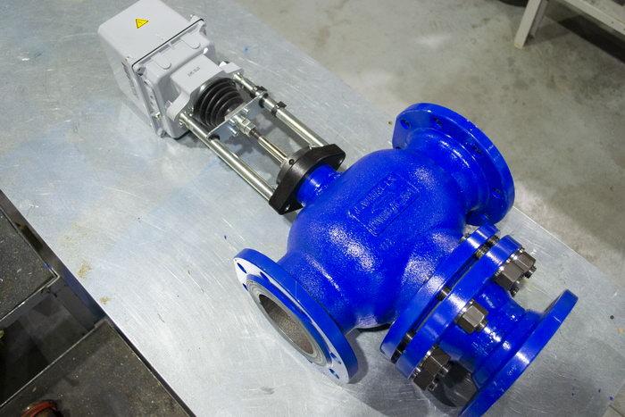 Клапан трёхходовой dn100_1